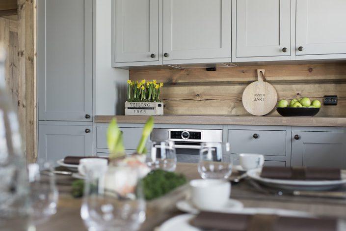 Hyttemøbler. Kjøkken modell LHM3.