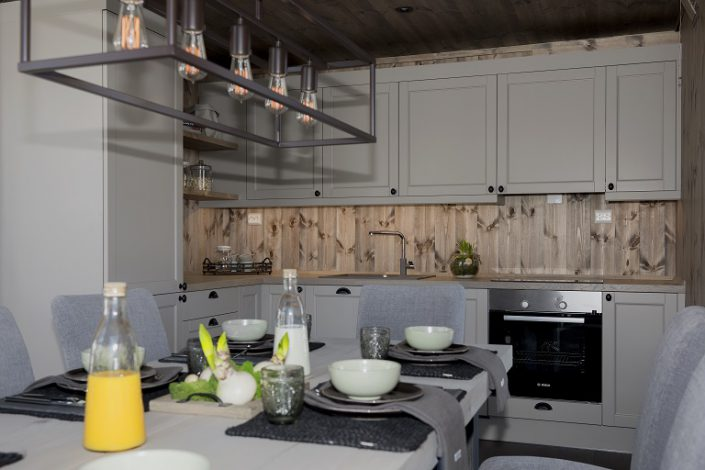 Cabin kitchen LHM2. LHM Interior