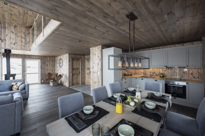 Inspiration for cabin. Kitchen. LHM Interior