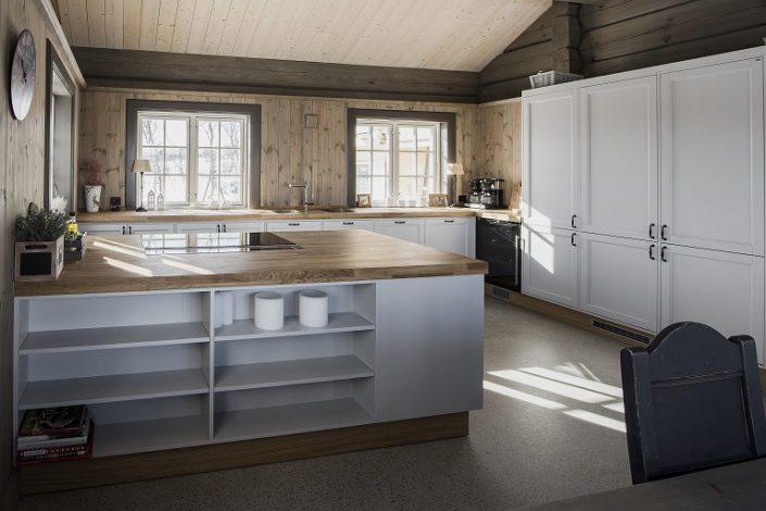 Kjøkken. Hyttemøbler. LHM Interior