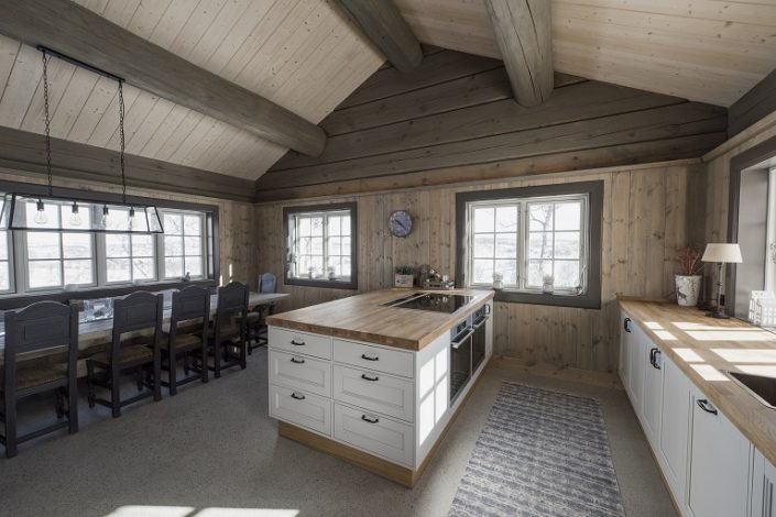 Hytte inspirasjon. Kjøkken. LHM Interior