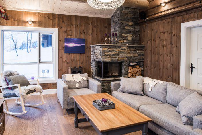 Cabin furniture. Coffee table. LHM Interior