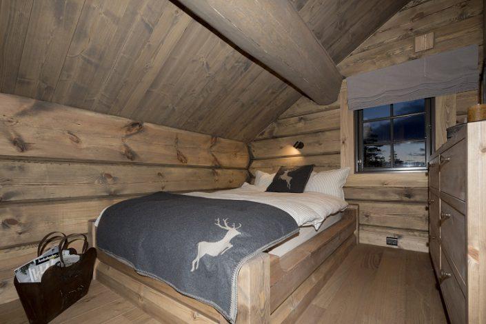 Single bed. Cabin furniture LHM Interior