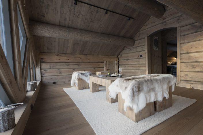 Cabin furniture design. LHM Interior