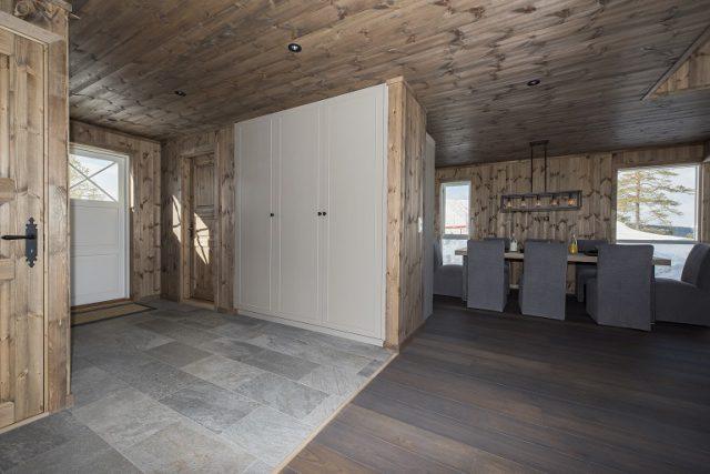 Cabin furniture. Wardrobe LHM2